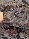 Блузка принтованная из вискозы oodji #SECTION_NAME# (черный), 21400394-1/24681/2919F - вид 5