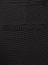 Брюки классические со стрелками oodji #SECTION_NAME# (черный), 21706021-6/46966/2912O - вид 5