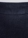 Юбка прямая льняная oodji для женщины (синий), 21601254-9B/16009/7900N