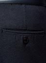 Брюки-чиносы из хлопка oodji #SECTION_NAME# (синий), 2L150130M/47391N/7975O - вид 5