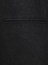 Жилет льняной длинный oodji #SECTION_NAME# (черный), 22300101B/16009/2900N - вид 5