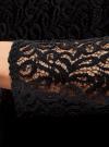 Блузка из кружева с декором на воротнике oodji #SECTION_NAME# (черный), 21411092-1/45967/2900N - вид 5