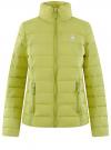Куртка утепленная на молнии oodji #SECTION_NAME# (зеленый), 10203034-2B/33743/6A00N