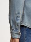 Рубашка джинсовая с нагрудными карманами oodji #SECTION_NAME# (синий), 6L400001M/35771/7500W - вид 5