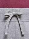 Брюки трикотажные спортивные oodji для женщины (серый), 16700030-15B/47906/2000M