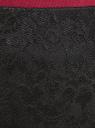 Юбка миди кружевная oodji для женщины (черный), 14101097/47365/2900N