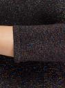 Платье с разноцветным люрексом oodji #SECTION_NAME# (черный), 73912219/45965/2900X - вид 5