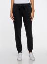 Комплект трикотажных брюк (2 пары) oodji #SECTION_NAME# (черный), 16700030-15T2/47906/2900N - вид 2