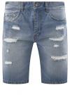 Шорты джинсовые oodji #SECTION_NAME# (синий), 6L220017M/35771/7000W
