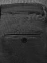 Брюки-чиносы из хлопка oodji #SECTION_NAME# (серый), 2L150154M/48573N/2525G - вид 5
