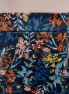 Юбка трикотажная со складками oodji #SECTION_NAME# (синий), 14100033-1M/45398/7945F - вид 4