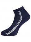 Комплект из шести пар носков oodji #SECTION_NAME# (синий), 57102708T6/48300/2