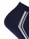 Комплект из трех пар носков oodji #SECTION_NAME# (синий), 57102708T3/48300/2 - вид 3