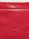 Юбка-карандаш из искусственной кожи oodji #SECTION_NAME# (красный), 18H01002B/45059/4C01N - вид 5