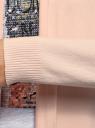 Кардиган удлиненный без застежки oodji #SECTION_NAME# (розовый), 73212385-4B/48117/4000N - вид 5