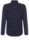Рубашка приталенная с длинным рукавом oodji #SECTION_NAME# (синий), 3B110011M/34714N/7900N