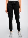Комплект трикотажных брюк (2 пары) oodji #SECTION_NAME# (разноцветный), 16700030-15T2/47906/19NCN - вид 2