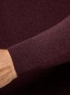Свитер базовый из хлопка oodji #SECTION_NAME# (красный), 4B312003M-1/34390N/4902M - вид 5