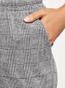 Брюки трикотажные на завязках oodji #SECTION_NAME# (серый), 16701073/49398/2912G - вид 5