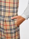Платье клетчатое без рукавов oodji #SECTION_NAME# (бежевый), 11910072-2/32831/3529C - вид 5