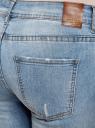 Джинсы skinny oodji для женщины (синий), 12103139/45877/7000W