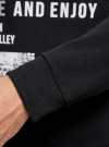 Свитшот прямого силуэта с принтом oodji #SECTION_NAME# (черный), 5L113091M/44382N/2910P - вид 5