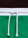 Юбка трикотажная на эластичном поясе oodji #SECTION_NAME# (зеленый), 14101098B/46155/6D10B - вид 4