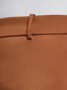 Брюки облегающие на эластичном поясе oodji #SECTION_NAME# (коричневый), 11706196B/42250/3700N - вид 5