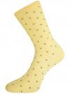 Комплект высоких носков (3 пары) oodji для женщины (разноцветный), 57102902T3/47613/26 - вид 3