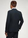 Пиджак базовый приталенный oodji #SECTION_NAME# (синий), 2B420019M-1/44320N/7901N - вид 3