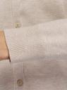 Кардиган вязаный на пуговицах oodji для женщины (бежевый), 73212401-2B/45647/3301M