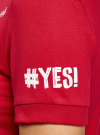 Платье трикотажное свободного силуэта oodji #SECTION_NAME# (красный), 14000162-10/46155/4519P - вид 5