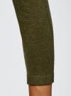 Платье вязаное с рукавом 3/4 oodji #SECTION_NAME# (зеленый), 63912222-2B/45109/6800N - вид 5