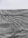 Брюки зауженные с молниями на штанинах oodji #SECTION_NAME# (серый), 11706198-1/45735/1029G - вид 4