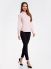 Рубашка базовая с одним карманом oodji #SECTION_NAME# (розовый), 11406013/18693/4000N - вид 6