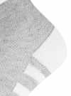 Комплект из трех пар хлопковых носков oodji #SECTION_NAME# (серый), 57102711T3/48022/11 - вид 4