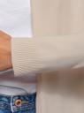 Кардиган удлиненный без застежки oodji для женщины (розовый), 73212385-4B/45641/4000N