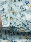 Куртка стеганая с круглым вырезом oodji #SECTION_NAME# (синий), 10203072B/42257/7019F - вид 5