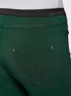 Брюки стретч узкие oodji для женщины (зеленый), 11713071-3B/14007/6900N - вид 5