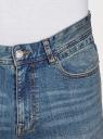 Джинсы slim базовые oodji для мужчины (синий), 6B120064M/46627/7501W
