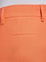 Брюки льняные укороченные oodji #SECTION_NAME# (оранжевый), 21701092B/16009/5400N - вид 5