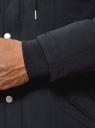 Парка с капюшоном и карманами oodji #SECTION_NAME# (синий), 1L422005M/46215N/7900N - вид 5