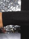 Кардиган удлиненный без застежки oodji #SECTION_NAME# (черный), 73212385-1B/43755/2901N - вид 5