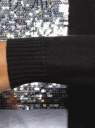 Кардиган удлиненный без застежки oodji для женщины (черный), 73212385-1B/43755/2901N