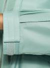 Ветровка с завязками oodji #SECTION_NAME# (зеленый), 10303060/49155/6C00N - вид 5