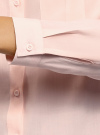 Блузка базовая из вискозы с нагрудными карманами oodji #SECTION_NAME# (розовый), 11411127B/42540/4000N - вид 5