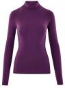 Водолазка базовая из хлопка oodji для женщины (фиолетовый), 15E17001/46147/8800N