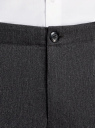 Брюки хлопковые slim fit oodji #SECTION_NAME# (серый), 2L210173M/44324N/2500O - вид 4