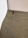 Юбка короткая с карманами oodji #SECTION_NAME# (бежевый), 11605056-2/22124/3329C - вид 5
