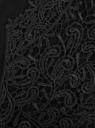 Трикотажная блузка oodji для женщины (черный), 21311030/45099/2900L